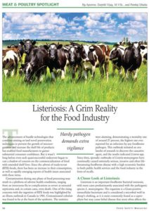 Food Safety Magazine Listeriosis article